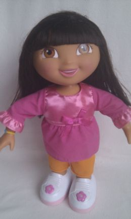 Adorable My 1st Big 'Dora the Explorer We did it!' Dancing & Singing Doll